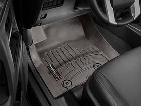 Ковры резиновые WeatherTech Toyota LC150 2014-2018  передние какао
