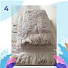 """Полотенце махровое баня.  Vip Cotton """"SIDE"""" :: Sikel. 70*140. Турция. Плотность: 500 г/м2, фото 5"""