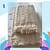 """Полотенце махровое баня.  Vip Cotton """"SIDE"""" :: Sikel. 70*140. Турция. Плотность: 500 г/м2, фото 2"""