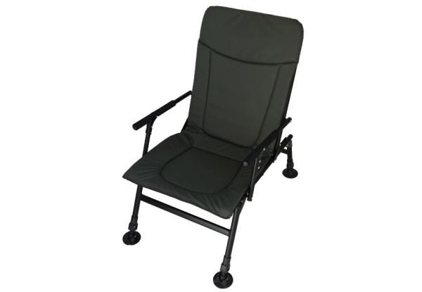 Кресло карповое Vario Camping (рыболовное кресло складное регулируемые ножки крісло коропове)
