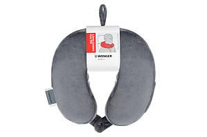 Подушка флісова Wenger (сіра)