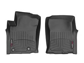 Ковры резиновые WeatherTech Toyota LC150 2019+  передние черные