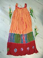 Сарафан летний длинный свободный размер  на все фигуры ламбада, фото 1