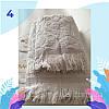 "Полотенце махровое для лица.  Vip Cotton ""SIDE"" :: Sikel. 50*90. Турция. Плотность: 500 г/м2, фото 5"