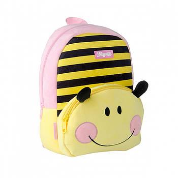 Детский рюкзак для дошкольник 1Вересня K-42 Bee 6л 29х20х11см Разноцветный (558529)(5056137180233)