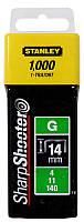 Скоби тип G Stanley 1-TRA709T 14мм (Степлер Stanley 6-TR250, 6-TR151Y) 1000шт
