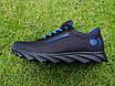 Кросівки чоловічі літні сітка високі 40-45 синій, фото 6