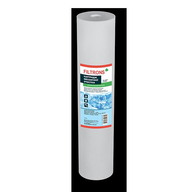 """Картридж механической очистки Filtrons 10"""" SLIM  10 мкм  полипропиленовый для холодной воды (FLP10SL10)"""