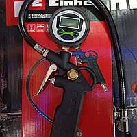 Пистолет для подкачки шин с цифровым манометром Einhell