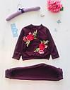 Детский костюм для девочки Вышивка на 1,5-7 лет, фото 3