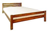 Кровать двуспальная деревянная Элегант ольха 1,6