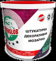 Декоративная мозаичная штукатурка Anserglob для цоколя  (G. GN.PN.PGN) - 5 кг