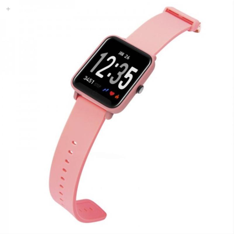 Умные смарт-часы фитнес браслет JETIX FitPro с GPS трекером (Coral)