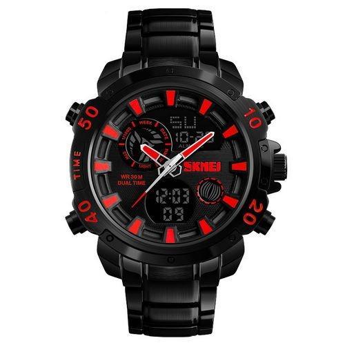 Skmei 1306 Steel Black-Red