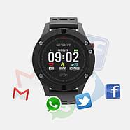 Спортивные часы JETIX F5 с GPS трекером и пульсометром (Black Grey), фото 2