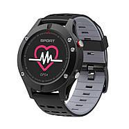 Спортивные часы JETIX F5 с GPS трекером и пульсометром (Black Grey), фото 3