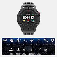 Спортивные часы JETIX F5 с GPS трекером и пульсометром (Black Grey), фото 4