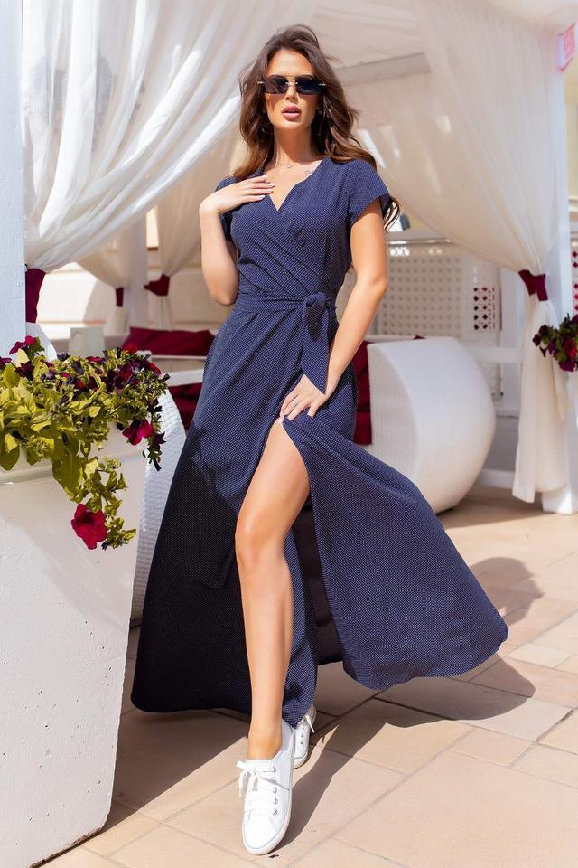 фото сукні на запах