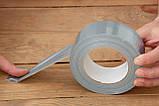 Стрічка ПВХ, арммированная, самоклеюча, ширина 50 мм, довжина 50 м. п. TERMOIZOL®, фото 4