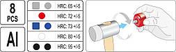 Молоток для рихтування Yato YT-45905, фото 3