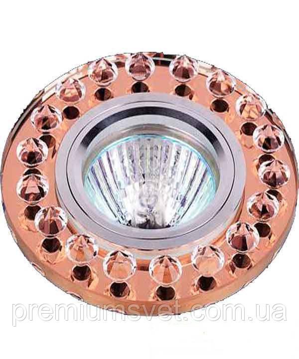 Стеклянный точечный светильник 716079
