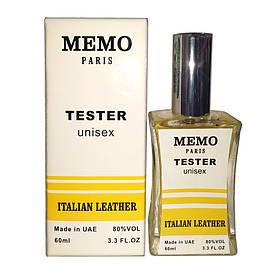 Тестер унисекс Memo Italian Leather 60 мл