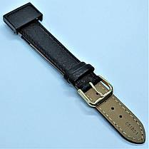 18 мм Кожаный Ремешок для часов CONDOR 051.18.01 Черный Ремешок на часы из Натуральной кожи, фото 3