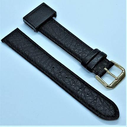18 мм Кожаный Ремешок для часов CONDOR 051.18.01 Черный Ремешок на часы из Натуральной кожи, фото 2