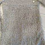 ✅Платье нарядное для девочки Туника теплая детская мохнатая  110, фото 3