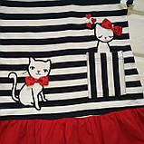 Платье для девочки  с котиками Размеры 86 98, фото 2
