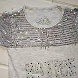 Красивая футболка для девочки Размеры 116 128 140, фото 2
