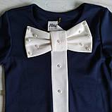 ✅Платье нарядное для девочки синее  Размер  128, фото 2
