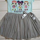 Платье летнее для девочки нарядное. Размеры 98 104 128, фото 2