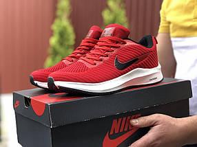 Червоні чоловічі кросівки текстильні, фото 3