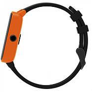 Умные спортивные часы Фитнес браслет JETIX FitPro с GPS трекером - (Black-Orange), фото 4