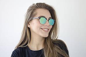 Очки Clubmaster зеркальные 9904-3