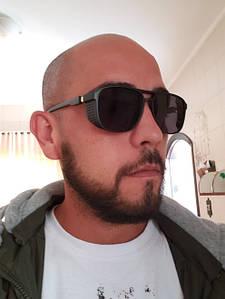 Солнцезащитные мужские прямоугольные очки Matrix 8619 с166-91