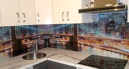 Скляний кухонний фартух купити в Запоріжжі