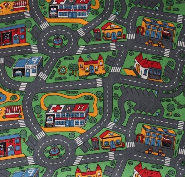 Детские ковры с дорогами Напол №36