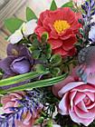 Букет весенний из ирисов, роз,пионов из мыла, фото 4