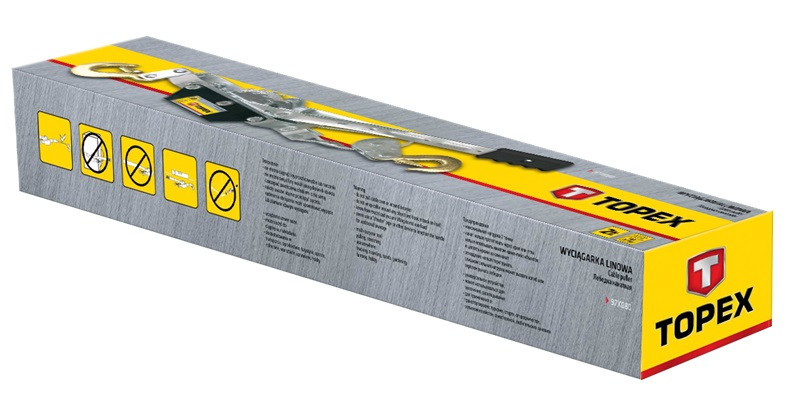 Лебідка канатна Topex 97X080