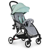 Легкая прогулочная коляска EL CAMINO ME 1058 WISH Mint Gray | Коляска Эль ME 1058 WISH Мятно-серый