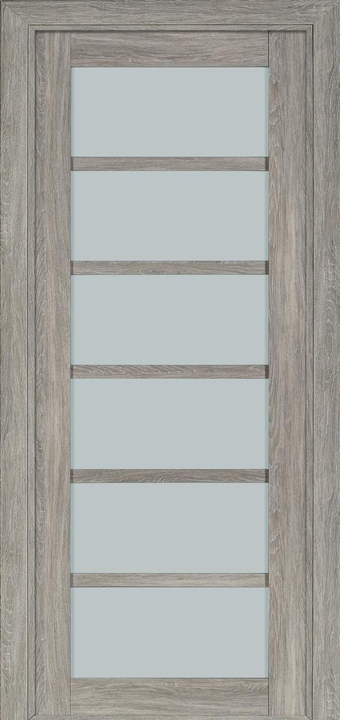 Дверь межкомнатная Terminus Модель 307 Эскимо цвет (застекленная)