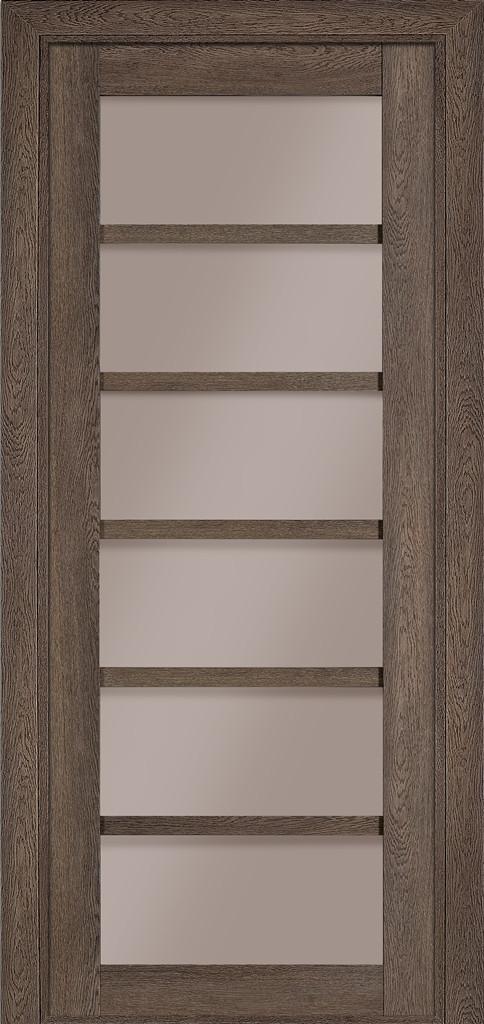 Дверь межкомнатная Terminus Модель 307 цвет Фундук (застекленная)