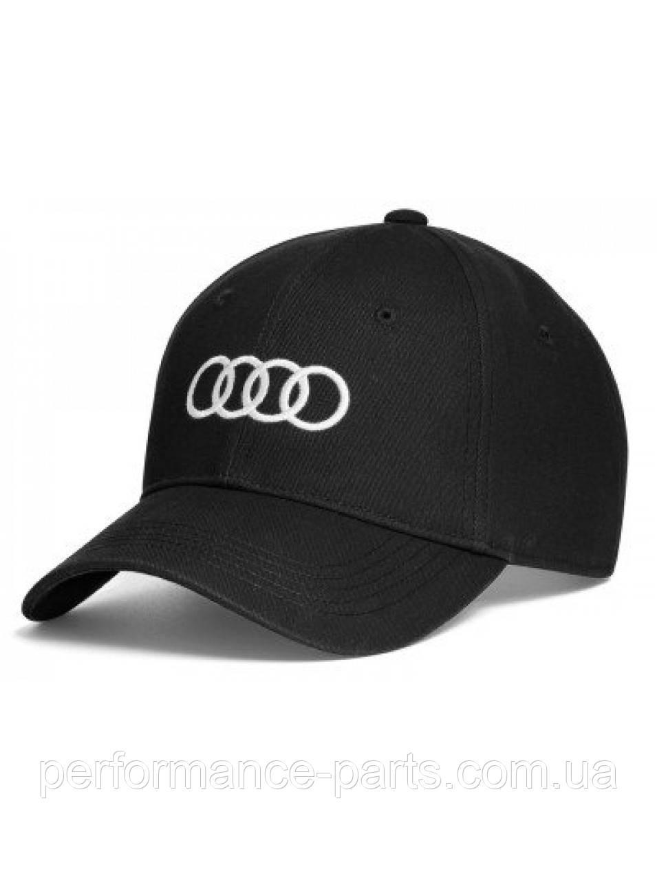 Бейсболка унісекс Audi Rings Unisex Baseball Cap, Black 3131701000