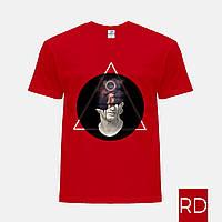 Мужская футболка цветная с принтом Ренессанс-Александр Великий (Alexander the Great) (25186-1586)