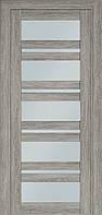 Двері міжкімнатні Terminus Модель 107 Ескімо колір (засклена)