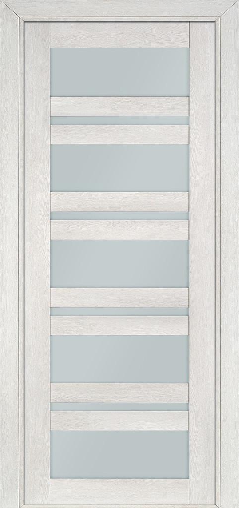 Дверь межкомнатная Terminus Модель 107 цвет Пломбир (застекленная)