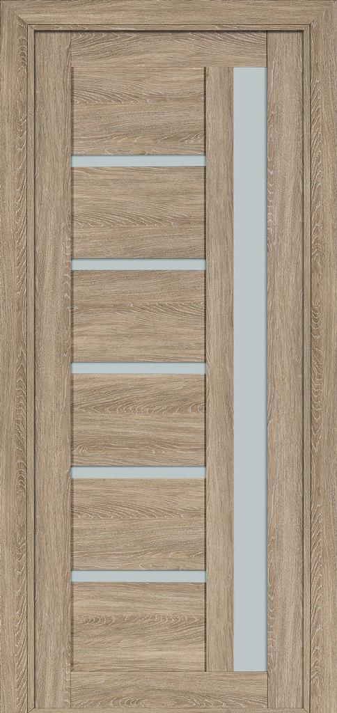 Дверь межкомнатная Terminus Модель 108 цвет Мускат (застекленная)