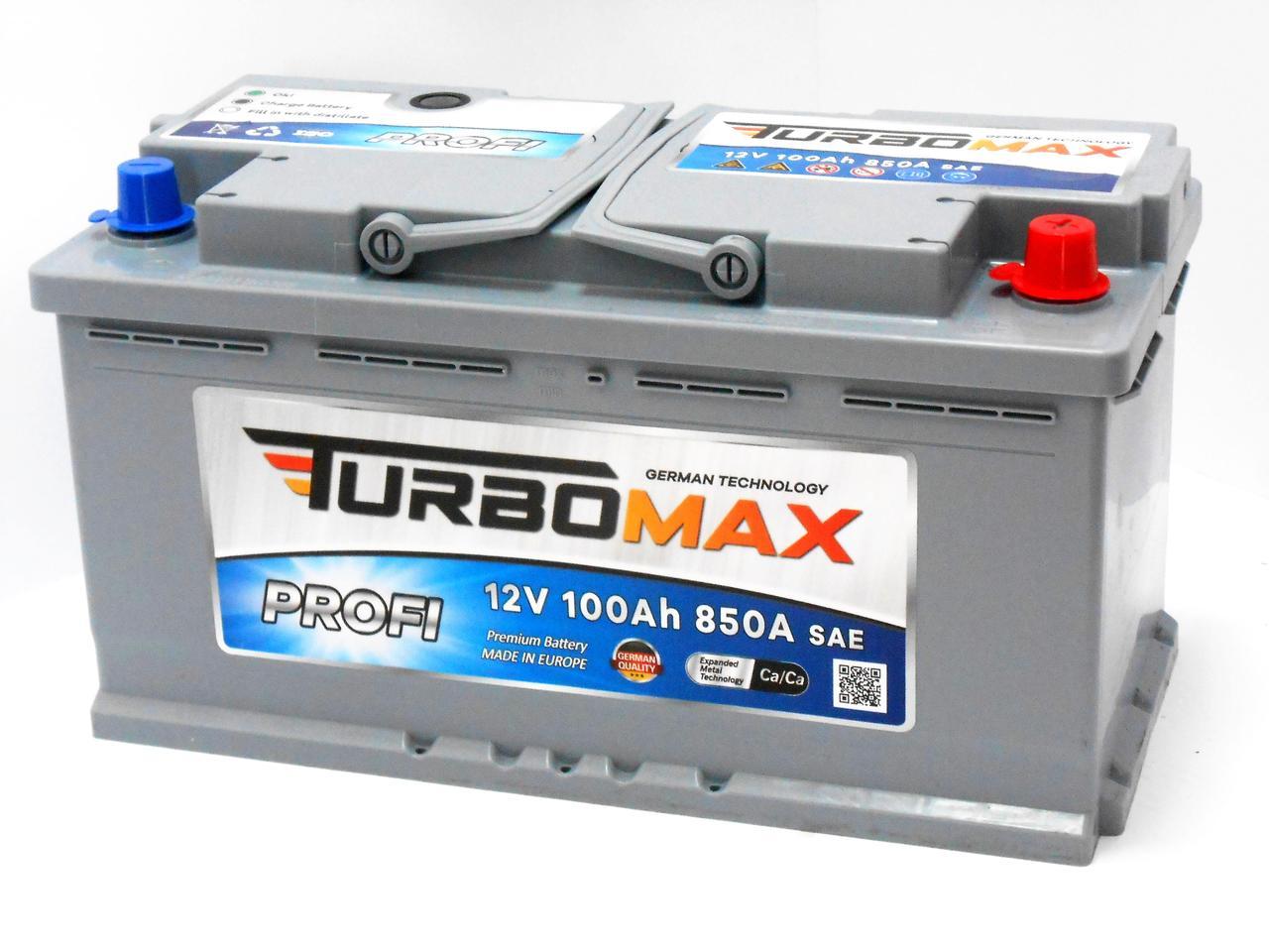 Акумулятор TURBOMAX PROFI 100 (R+)